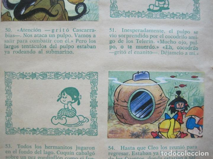 Coleccionismo Álbumes: LA FAMILIA TELERIN EN EL PAIS DE LOS CUENTOS-BRUGUERA-INCOMPLETO-FALTAN 9 CROMOS-VER FOTOS(V-19.926) - Foto 14 - 203185726