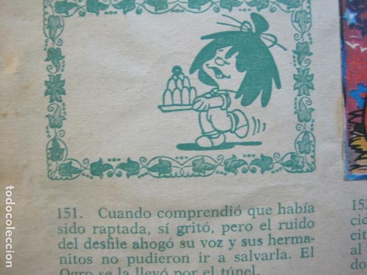 Coleccionismo Álbumes: LA FAMILIA TELERIN EN EL PAIS DE LOS CUENTOS-BRUGUERA-INCOMPLETO-FALTAN 9 CROMOS-VER FOTOS(V-19.926) - Foto 22 - 203185726