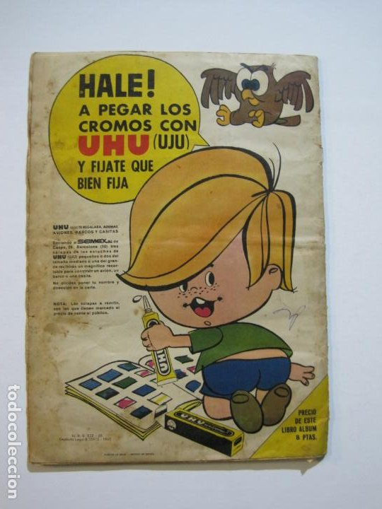 Coleccionismo Álbumes: LA FAMILIA TELERIN EN EL PAIS DE LOS CUENTOS-BRUGUERA-INCOMPLETO-FALTAN 9 CROMOS-VER FOTOS(V-19.926) - Foto 26 - 203185726
