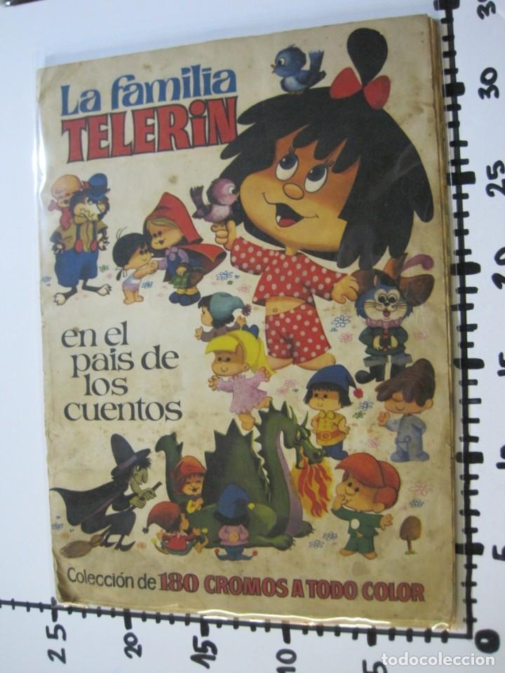Coleccionismo Álbumes: LA FAMILIA TELERIN EN EL PAIS DE LOS CUENTOS-BRUGUERA-INCOMPLETO-FALTAN 9 CROMOS-VER FOTOS(V-19.926) - Foto 27 - 203185726