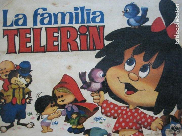 LA FAMILIA TELERIN EN EL PAIS DE LOS CUENTOS-BRUGUERA-INCOMPLETO-FALTAN 9 CROMOS-VER FOTOS(V-19.926) (Coleccionismo - Cromos y Álbumes - Álbumes Incompletos)