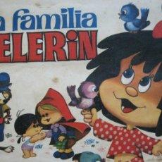 Coleccionismo Álbumes: LA FAMILIA TELERIN EN EL PAIS DE LOS CUENTOS-BRUGUERA-INCOMPLETO-FALTAN 9 CROMOS-VER FOTOS(V-19.926). Lote 203185726