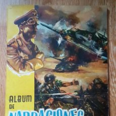 Coleccionismo Álbumes: ALBUM DE NARRACIONES DEL CHOCOLATE LLORET ,VILLAJOYOSA . AÑO 1960. COMPLETO A FALTA DE 3 CROMOS. Lote 203213283