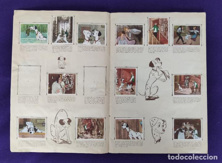 Coleccionismo Álbumes: ALBUM INCOMPLETO. 101 DALMATAS. WALT DISNEY. FHER. 1962. FALTAN 49 CROMOS DE 203. - Foto 4 - 203258562