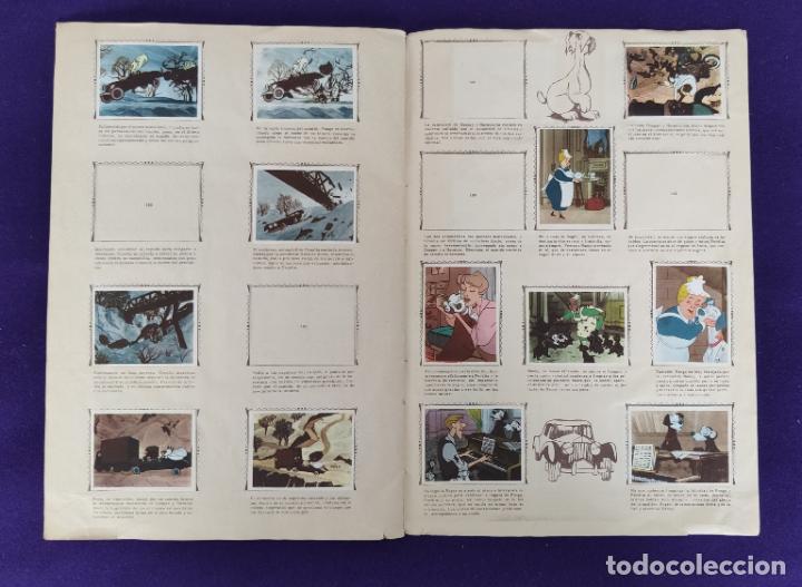 Coleccionismo Álbumes: ALBUM INCOMPLETO. 101 DALMATAS. WALT DISNEY. FHER. 1962. FALTAN 49 CROMOS DE 203. - Foto 14 - 203258562