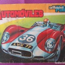 Coleccionismo Álbumes: LOTE 20 ALBUMES DE CROMOS, COCHES, MOTOR 16, MOTO, VER FOTOS ADICIONALES. Lote 203310327