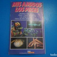 Coleccionismo Álbumes: ALBUM VACIO DE MIS AMIGOS LOS PECES AÑO 1985 DE TELE INDISCRETA. Lote 203839580