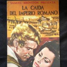 Coleccionismo Álbumes: ALBUM CROMOS VACÍO LA CAIDA DEL IMPERIO ROMANO DE SAMUEL BRONSTON. Lote 203925357