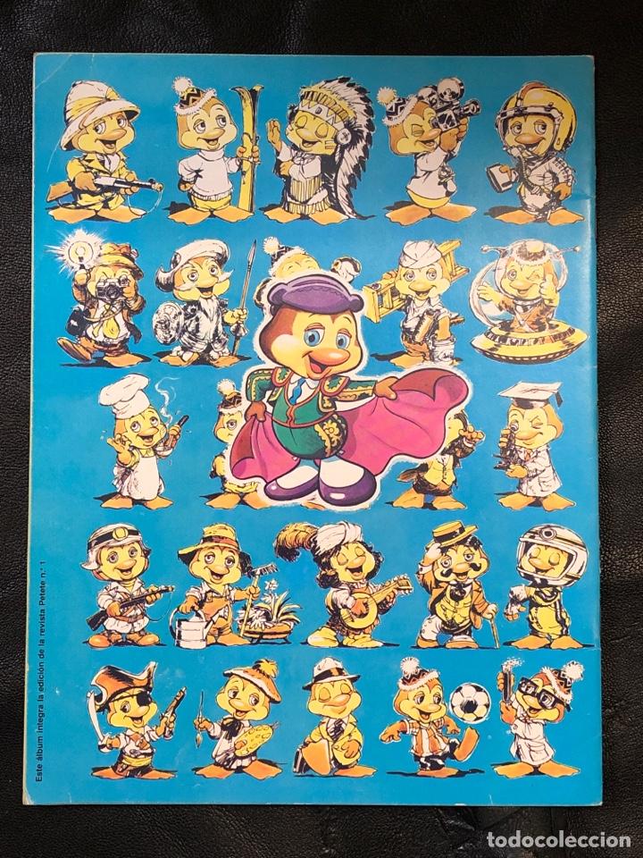 Coleccionismo Álbumes: ÁLBUM PETETE - PRODUCCIONES GARCÍA FERRÉ - VACÍO - Foto 2 - 203926826