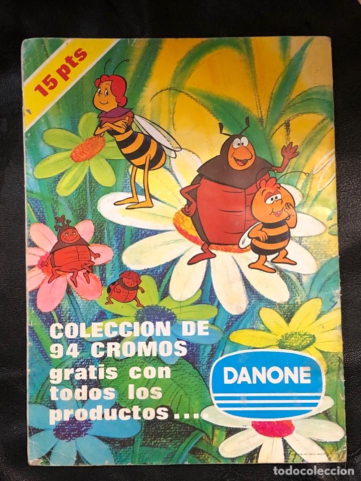 Coleccionismo Álbumes: ALBUM LAS AVENTURAS DE LA ABEJA MAYA - DANONE - COMPLETO - Foto 2 - 203928521