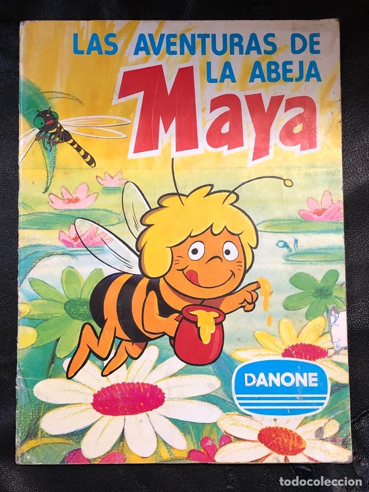 ALBUM LAS AVENTURAS DE LA ABEJA MAYA - DANONE - COMPLETO (Coleccionismo - Cromos y Álbumes - Álbumes Incompletos)
