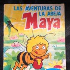 Coleccionismo Álbumes: ALBUM LAS AVENTURAS DE LA ABEJA MAYA - DANONE - COMPLETO. Lote 203928521