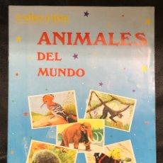 Coleccionismo Álbumes: ALBUM ANIMALES DEL MUNDO - VACÍO (RARO!). Lote 203931782