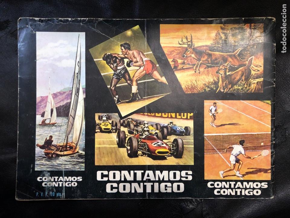 Coleccionismo Álbumes: ALBUM CONTAMOS CONTIGO - VACÍO - Foto 2 - 203933667