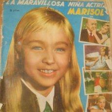 Coleccionismo Álbumes: 100 CROMOS SUELTOS DEL ALBUM UN RAYO DE LUZ DE MARISOL - 1960 FHER - TENGO CASI TODOS. Lote 203937910