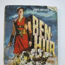 Coleccionismo Álbumes: BEN HUR-ALBUM CASI COMPLETO-FALTA 1 CROMO-1ª EDICION 1960-EDITORIAL BRUGUERA-VER FOTOS-(V-20.029). Lote 204324227