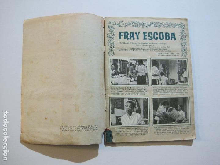 Coleccionismo Álbumes: FRAY ESCOBA-ALBUM CASI COMPLETO-FALTA 1 CROMO-EDITORIAL BRUGUERA-VER FOTOS-(V-20.034) - Foto 6 - 204330378