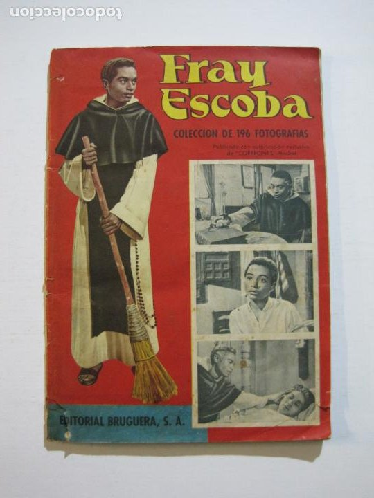 FRAY ESCOBA-ALBUM CASI COMPLETO-FALTA 1 CROMO-EDITORIAL BRUGUERA-VER FOTOS-(V-20.034) (Coleccionismo - Cromos y Álbumes - Álbumes Incompletos)