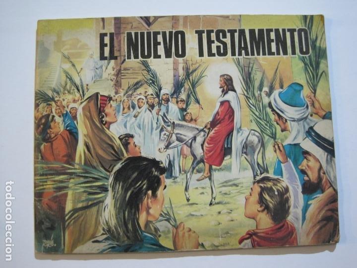 EL NUEVO TESTAMENTO-ALBUM DE CROMOS INCOMPLETO-VER FOTOS-(V-20.044) (Coleccionismo - Cromos y Álbumes - Álbumes Incompletos)