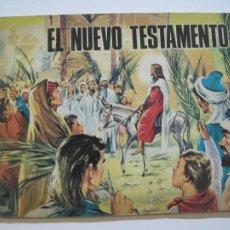 Coleccionismo Álbumes: EL NUEVO TESTAMENTO-ALBUM DE CROMOS INCOMPLETO-VER FOTOS-(V-20.044). Lote 204338528