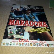 Coleccionismo Álbumes: MARADONA ALBUM DE MUCHOS CROMOS DE EL. Lote 204667132