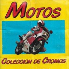 Coleccionismo Álbumes: ALBUM DE LA COLECCION DE 156 CROMOS DE MOTOS DE 1987 LA COLECCION COMPLETA ES DE 180 CROMOS. Lote 204681535