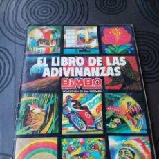 Coleccionismo Álbumes: ALBUM EL LIBRO DE LAS ADIVINANZAS BIMBO. Lote 204827657