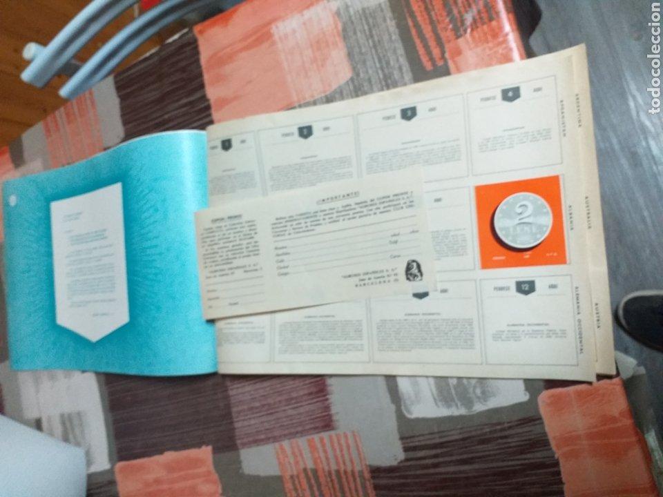 Coleccionismo Álbumes: ALBUM LIBRO DE BANDERAS ESCUDOS MONEDAS MAPAS,COLECCION UNIVERSALQ - Foto 2 - 204839766