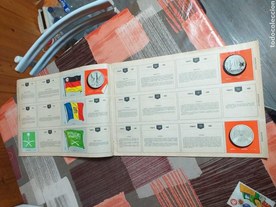 Coleccionismo Álbumes: ALBUM LIBRO DE BANDERAS ESCUDOS MONEDAS MAPAS,COLECCION UNIVERSALQ - Foto 3 - 204839766