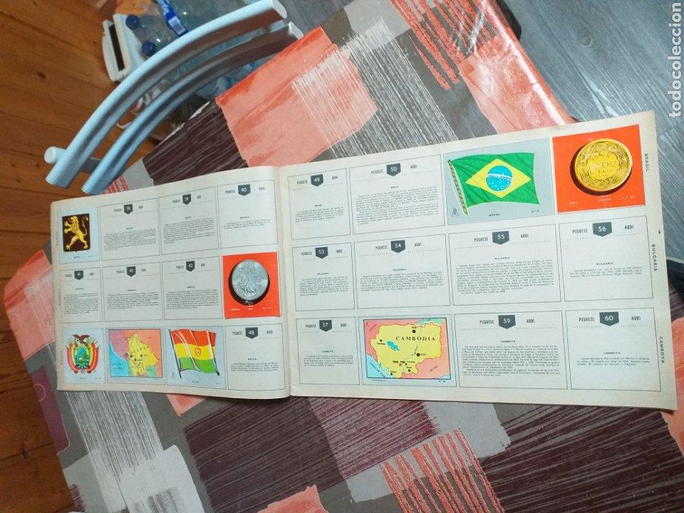 Coleccionismo Álbumes: ALBUM LIBRO DE BANDERAS ESCUDOS MONEDAS MAPAS,COLECCION UNIVERSALQ - Foto 4 - 204839766