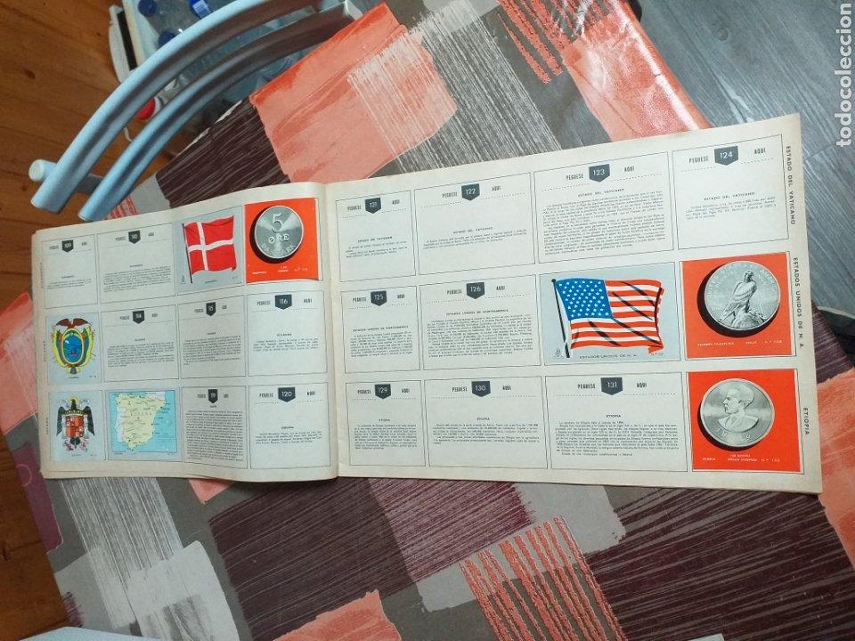 Coleccionismo Álbumes: ALBUM LIBRO DE BANDERAS ESCUDOS MONEDAS MAPAS,COLECCION UNIVERSALQ - Foto 7 - 204839766