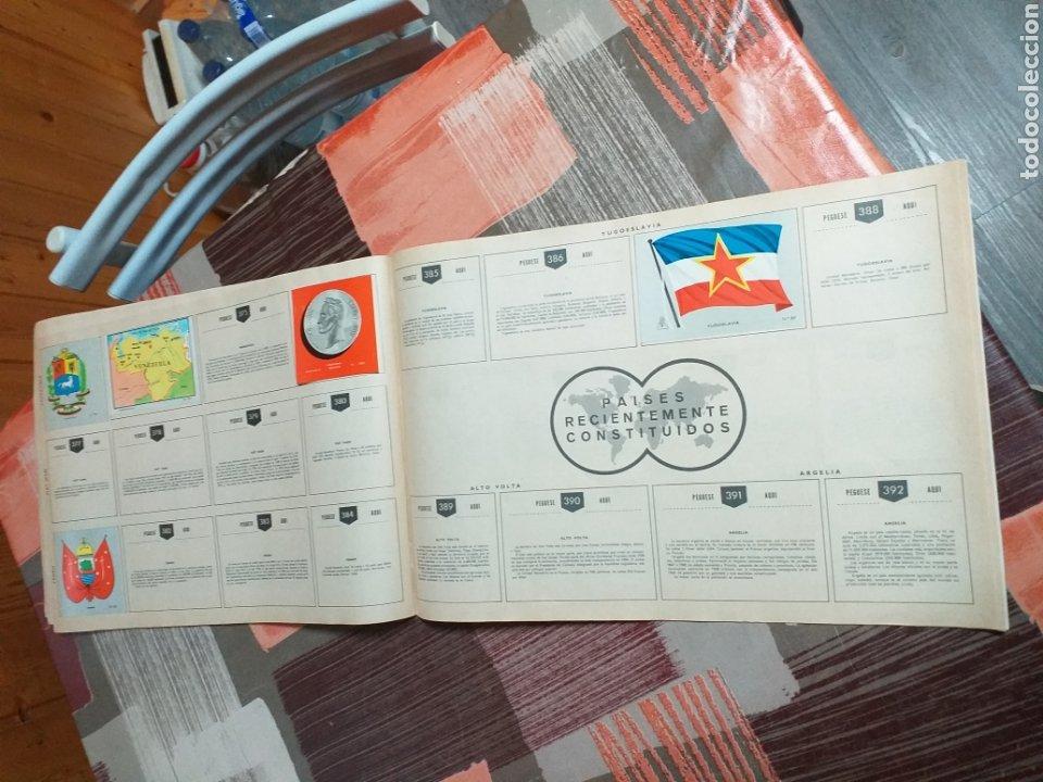 Coleccionismo Álbumes: ALBUM LIBRO DE BANDERAS ESCUDOS MONEDAS MAPAS,COLECCION UNIVERSALQ - Foto 19 - 204839766