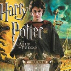 Coleccionismo Álbumes: ANTIGUO ALBUM HARRY POTTER Y EL CALIZ DE FUEGO DE PANINI CON 82 CROMOS. Lote 205038510
