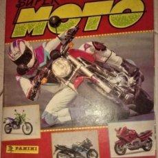Coleccionismo Álbumes: SUPER MOTO. Lote 205255623