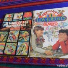 Coleccionismo Álbumes: EL LIBRO DE LOS JUEGOS COMPLETO A FALTA DE 6 CROMOS. BIMBO 1979. REGALO LAS ADIVINANZAS 1 INCOMPLETO. Lote 205266217
