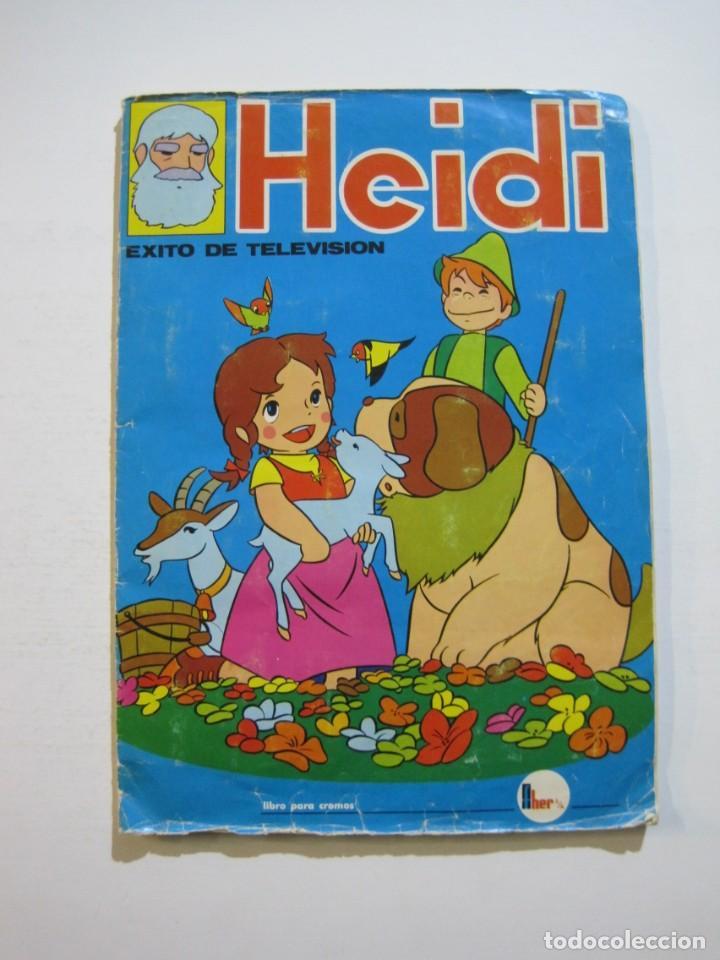 HEIDI-FHER-ALBUM DE CROMOS CASI COMPLETO-VER FOTOS-(V-20.212) (Coleccionismo - Cromos y Álbumes - Álbumes Incompletos)