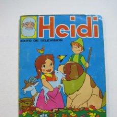 Coleccionismo Álbumes: HEIDI-FHER-ALBUM DE CROMOS CASI COMPLETO-VER FOTOS-(V-20.212). Lote 205325855