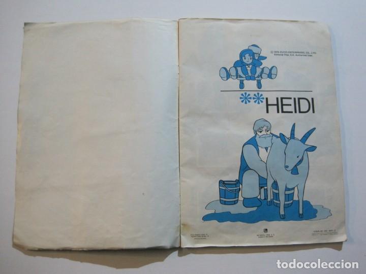 Coleccionismo Álbumes: HEIDI-FHER-ALBUM DE CROMOS CASI COMPLETO-VER FOTOS-(V-20.212) - Foto 3 - 205325855