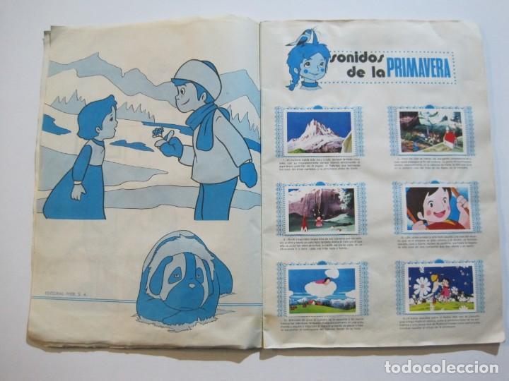 Coleccionismo Álbumes: HEIDI-FHER-ALBUM DE CROMOS CASI COMPLETO-VER FOTOS-(V-20.212) - Foto 6 - 205325855