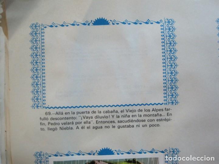 Coleccionismo Álbumes: HEIDI-FHER-ALBUM DE CROMOS CASI COMPLETO-VER FOTOS-(V-20.212) - Foto 12 - 205325855