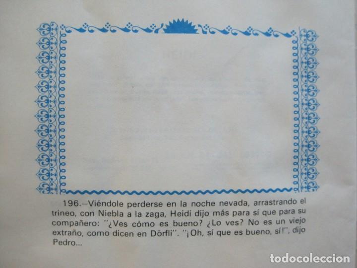 Coleccionismo Álbumes: HEIDI-FHER-ALBUM DE CROMOS CASI COMPLETO-VER FOTOS-(V-20.212) - Foto 21 - 205325855