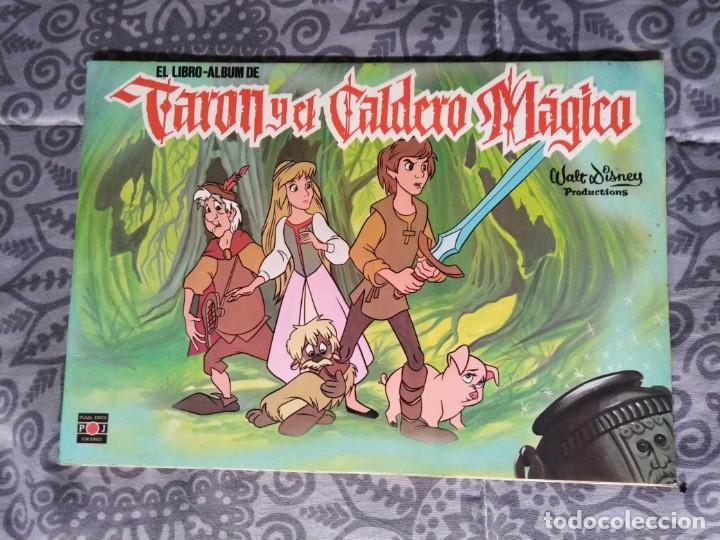 ALBUM TARON Y EL CALDERO MÁGICO (Coleccionismo - Cromos y Álbumes - Álbumes Incompletos)