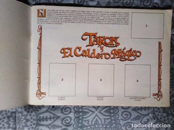 Coleccionismo Álbumes: Album Taron y El Caldero mágico - Foto 3 - 205606687