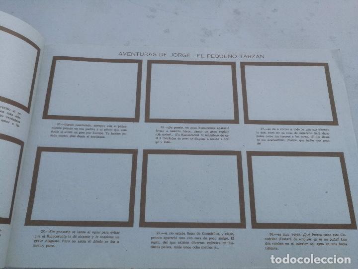 Coleccionismo Álbumes: ANTIGUO ALBUM VACIO DE LAS AVENTURAS DE JORGE - EL PEQUEÑO TARZAN - EDITORIAL COSTA - 1969 - EN PERF - Foto 2 - 205648916