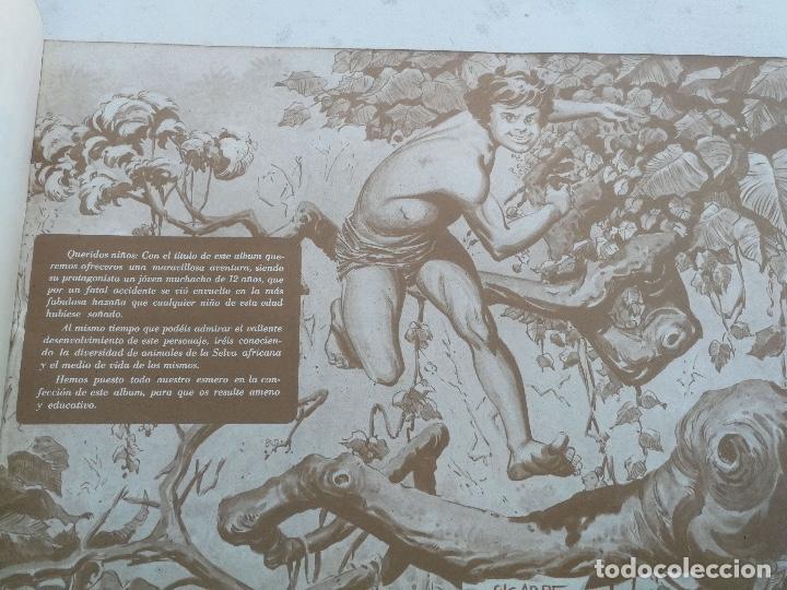 Coleccionismo Álbumes: ANTIGUO ALBUM VACIO DE LAS AVENTURAS DE JORGE - EL PEQUEÑO TARZAN - EDITORIAL COSTA - 1969 - EN PERF - Foto 3 - 205648916