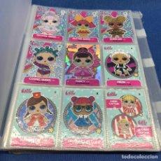 Coleccionismo Álbumes: LOL SURPRISE - TRADING CARDS OFICIALES - PANINI - CON ARCHIVADOR. Lote 205813646