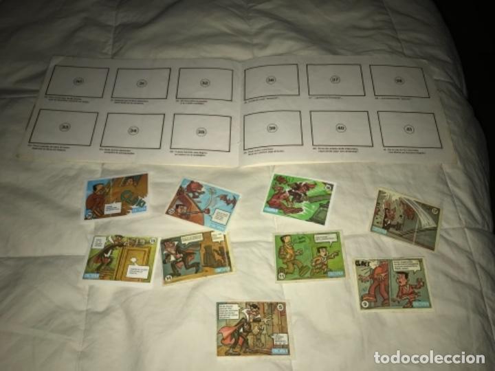 Coleccionismo Álbumes: Álbum cromos ALBUM VACÍO RIETE DEL MIEDO - CROPAN AÑOS 70 CON 9 CROMOS NO SUELTOS - Foto 8 - 205820862