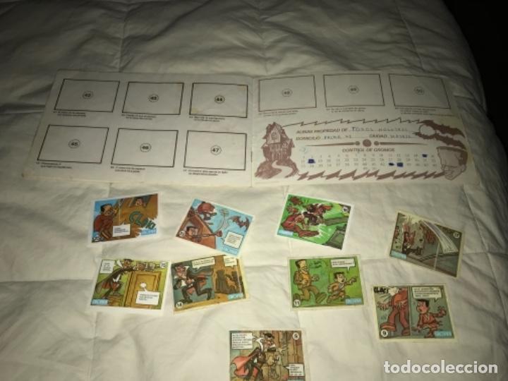 Coleccionismo Álbumes: Álbum cromos ALBUM VACÍO RIETE DEL MIEDO - CROPAN AÑOS 70 CON 9 CROMOS NO SUELTOS - Foto 9 - 205820862