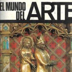 Coleccionismo Álbumes: ALBUM CON 155 CROMOS DE EL MUNDO DEL ARTE. Lote 205831816