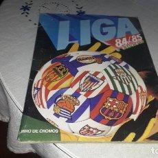 Coleccionismo Álbumes: ALBUM DE LA LIGA 1984-85 DE ESTE CON POCOS CROMOS. Lote 206163425